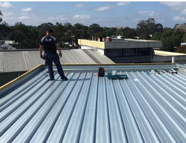 Metal Roof Replacement Naremburn